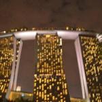 夜の「ガーデンズ・バイ・ザ・ベイ」と「マリーナ・ベイ・サンズ」を堪能【シンガポール】