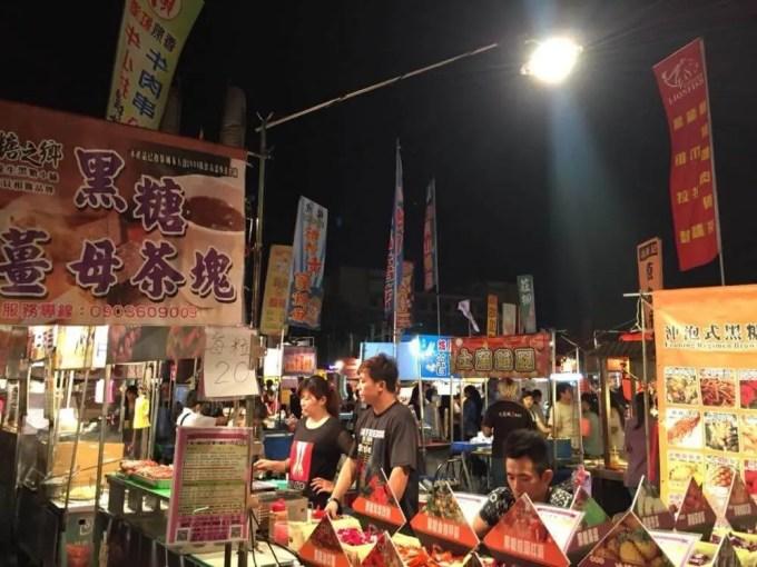 大東夜市【台湾10(大東夜市とマッサージ】