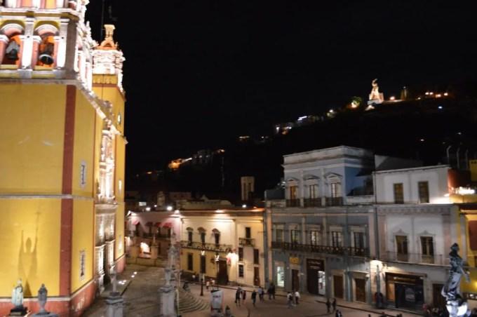 ホテル・デ・ラパスからの眺め(グアナファト①)【メキシコ】