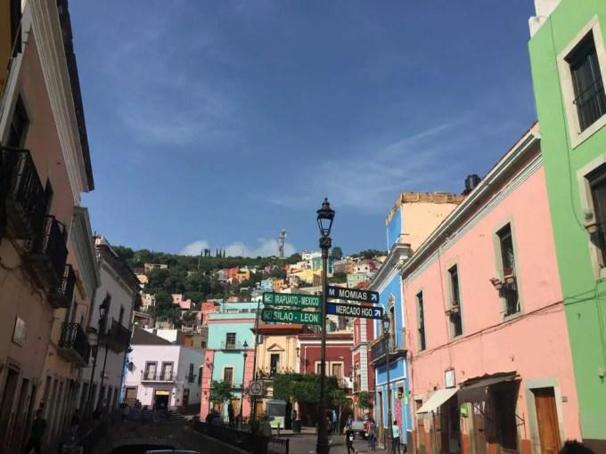 イダルゴ市場へ(グアナファト③午前)【メキシコ】