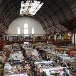 古い駅舎を使った2階建て市場「イダルゴ市場」(メキシコ・グアナファト)【市場・バザール】