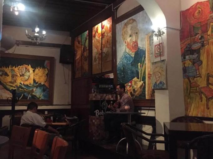 ラオレハ・デ・バン・ゴッホ(グアナファト⑤夕方〜夜)【メキシコ】