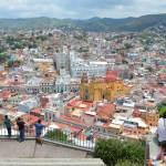 ピピラの丘から見た昼間のグアナファトの街は白く輝いていました☆【メキシコ】