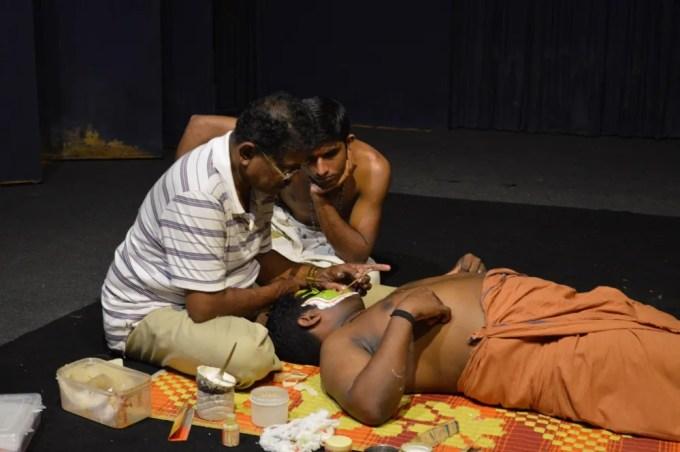 カタカリ・ダンス(南インド・ケララ州3)