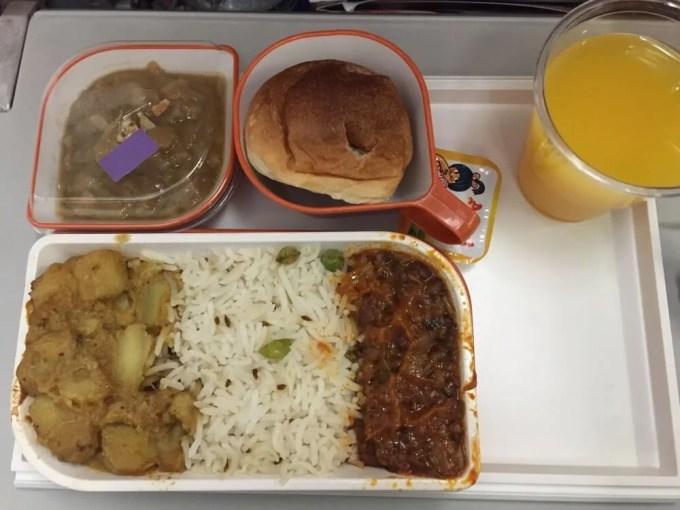 シルクエアー機内食(南インド・ケララ州14)