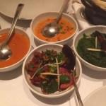 シンプルでスタイリッシュな店内でインド料理のコースをいただく『シターラ 青山(SITAARA)』@青山