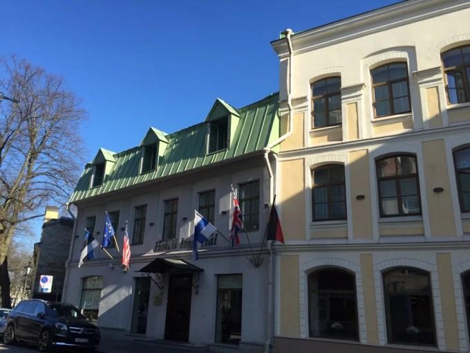 タリン:Hotel Imperial(エストニア:タリン)