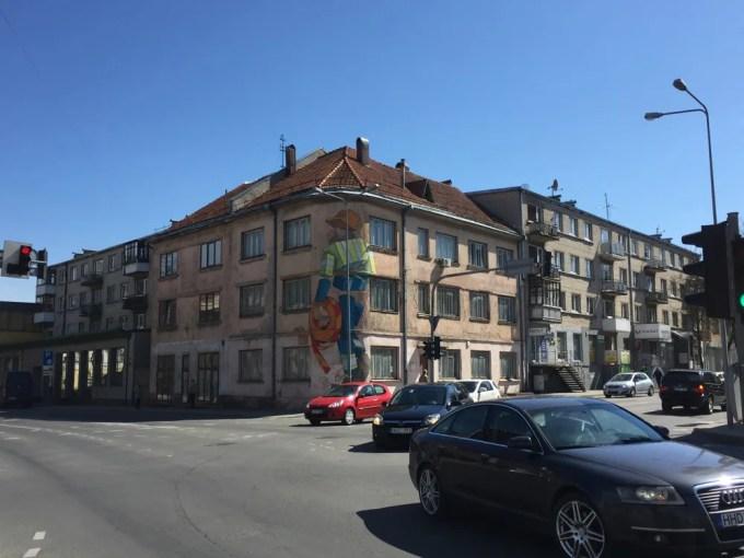 シャウレイの街(バルト三国11:ラトビア〜リトアニア)