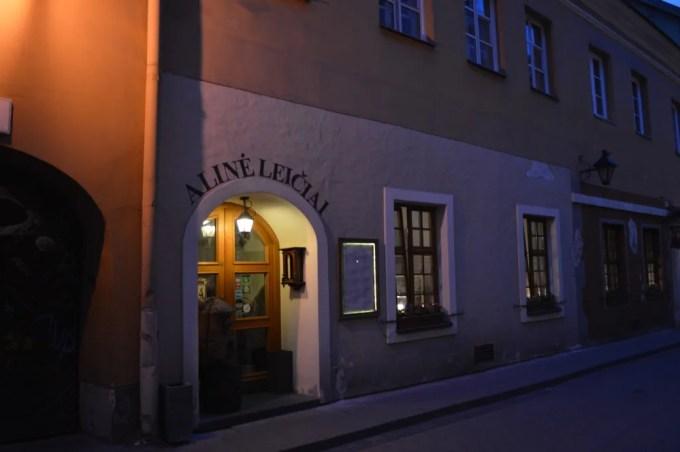 ビリニュスのレストラン(レイチャイ:リトアニア:ビリニュス)