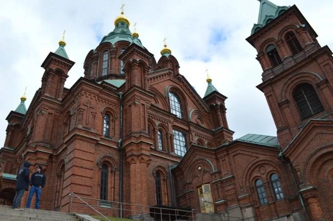 ウスペンスキー寺院:ヘルシンキ観光(バルト三国②)