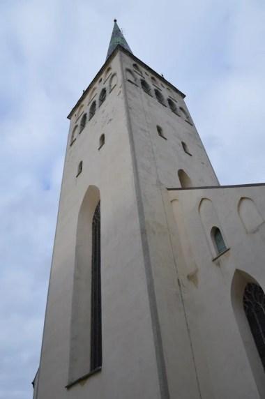 聖ニコラス教会:タリン旧市街:フェリーでタリンへ(バルト三国③)
