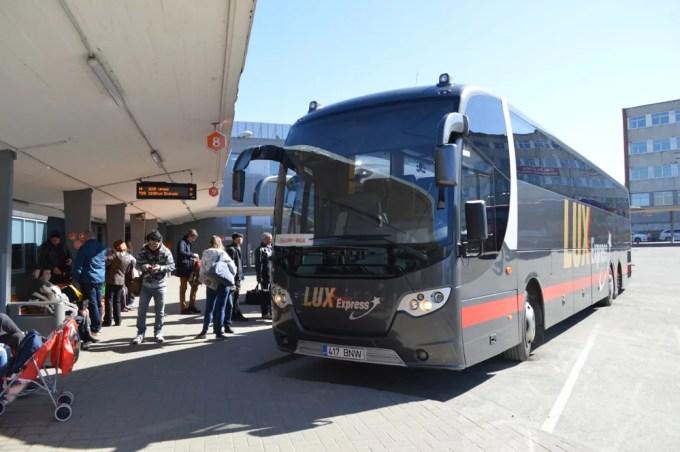 バスでタリンからリガへ(バルト三国⑥:タリン〜リガ)