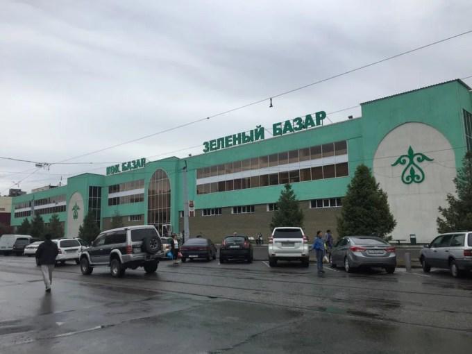 中央バザール【カザフスタン・アルマトイ】【キルギス旅②】