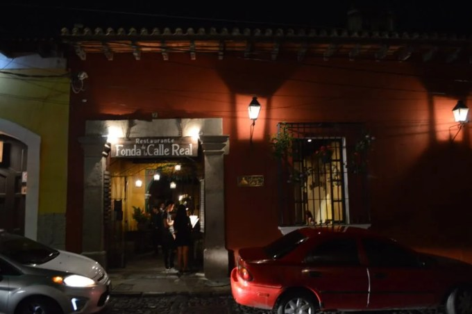 Fonda de la Calle Real【グアテマラ⑥:パナ~アンティグア】