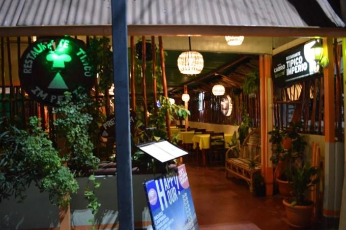 Restaurante Tipico Imperio【グアテマラ⑧:フローレス】