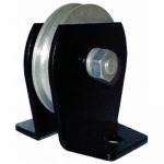 Pulley Block,Wire Rope,3000 lb Load Cap. ZORO SELECT 5RRR3