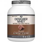 Designer Protein Whey Protein Gourmet Chocolate-4 lb Powder