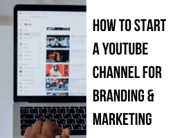 Five easy steps to start your YouTube Channel.