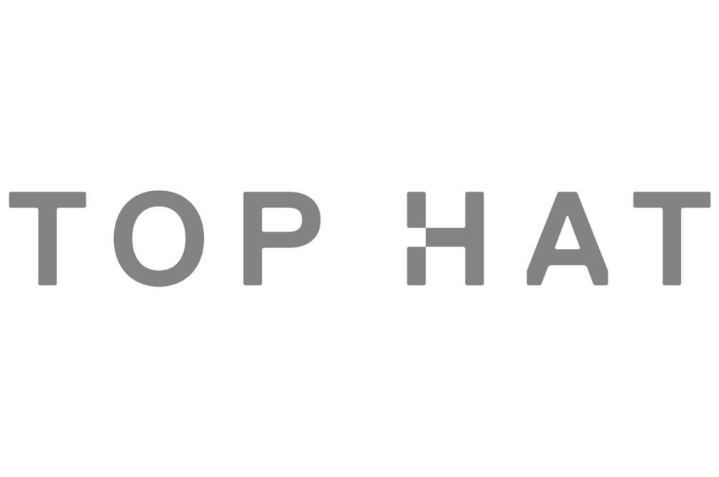 Top Hat grey web
