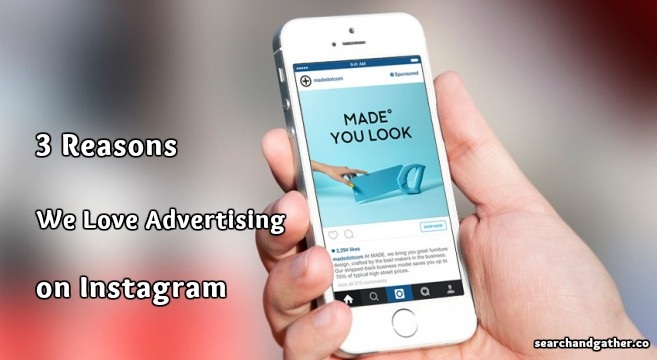 advertising on instagram - feature