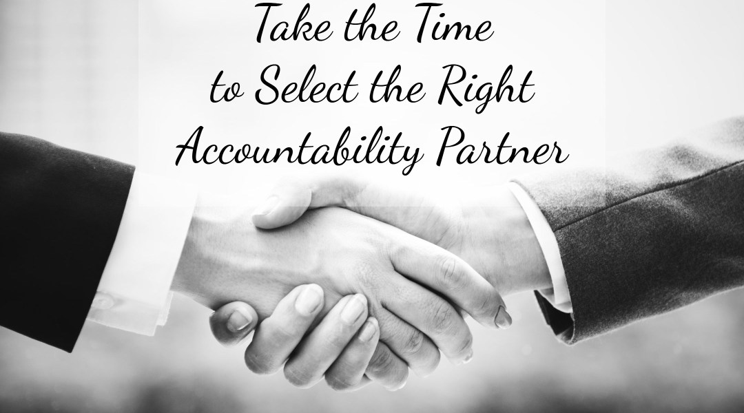 How to Choose the Right Accountability Partner