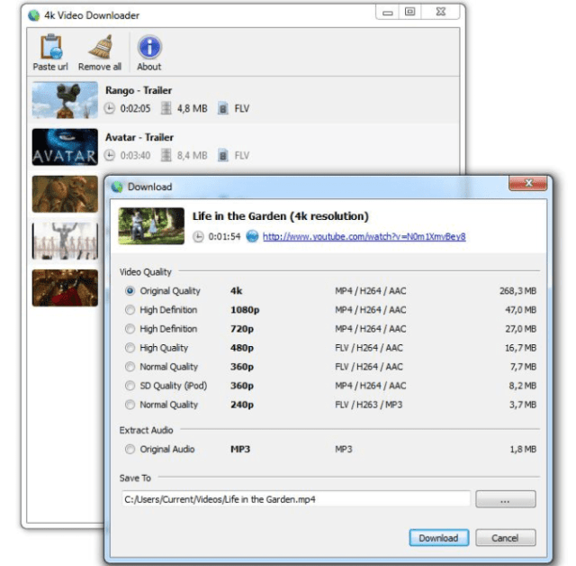 4K Video Downloader Crack it is one of the videos downloader and videos converter application