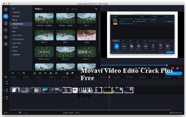 Movavi Video Editor Crack Plus
