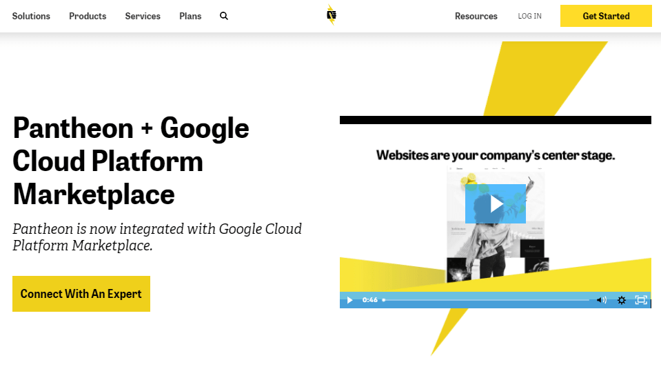 Pantheon Announces New Collaboration with Google Cloud