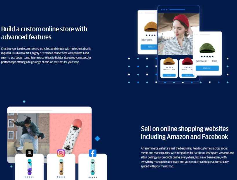 new ecommerce store builder features