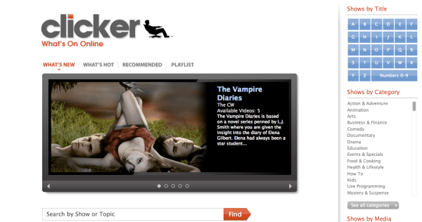 Clicker: More Than Just A Video Search Engine