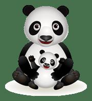 panda-and-baby
