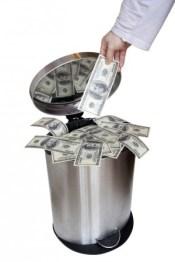 money-garbage-shutterstock