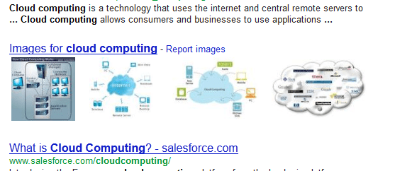 "Example Search Results for ""Cloud Computing"""
