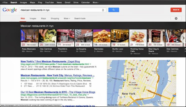 Google Knowledge Graph Carousel For Local Search