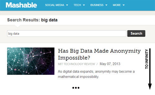 big data mashable