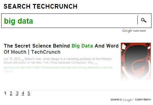 big data techcrunch