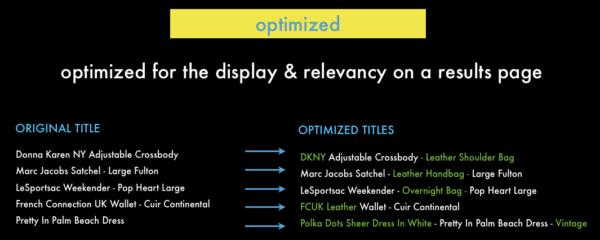 optimized PLA titles