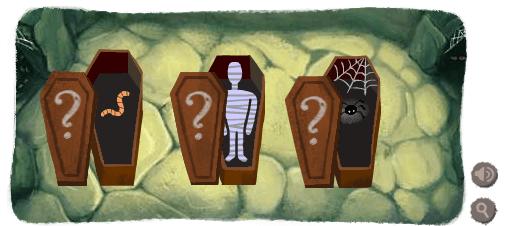 Google Logo Coffins