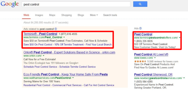 Double Serving AdWords
