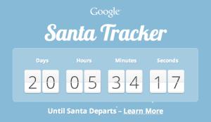 Google Santa Tracker 2013 Snapshot