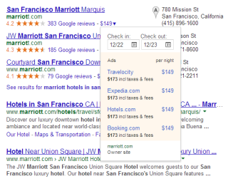 Hotel Price Ads