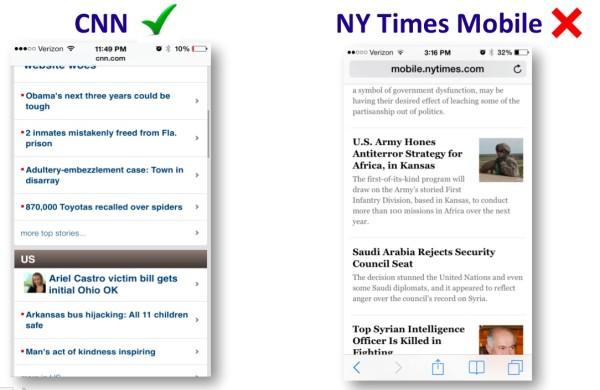 Headlines Work Better Than Stories