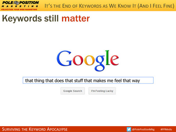 Keywords still matter