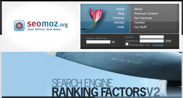 2007 v2 Search Ranking Factors study by Rand Fishkin.