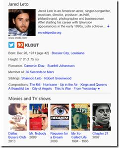 Bing Jared Leto Oscars