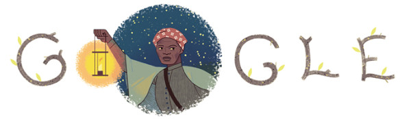 Harriet Tubman Google Logo