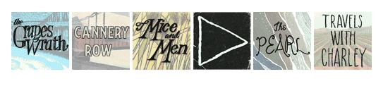 Steinbeck Google logo