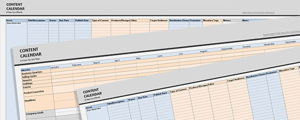 content-calendar-template