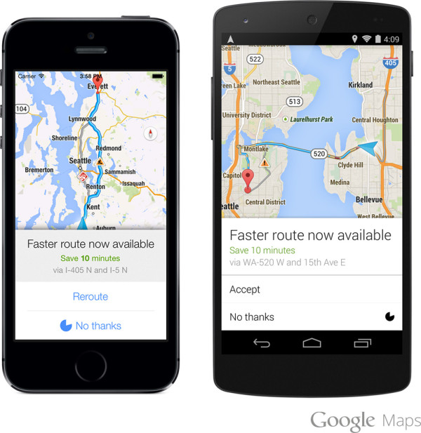 google-maps-rerouting