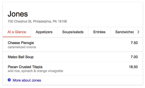 google-restaurant-menu-card